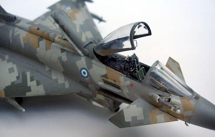 Eurofigther Typhoon deRevell au 1/48 412