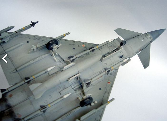 Eurofigther Typhoon deRevell au 1/48 512
