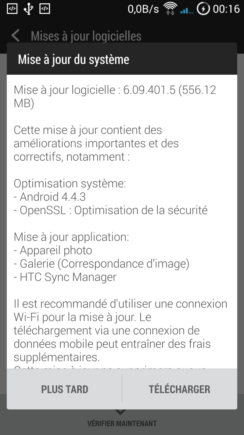 [TUTO] Mise à jour Logicielle OTA : Android 4.4.3 - 6.09.401.5 + ModNoREDWarning Screen18