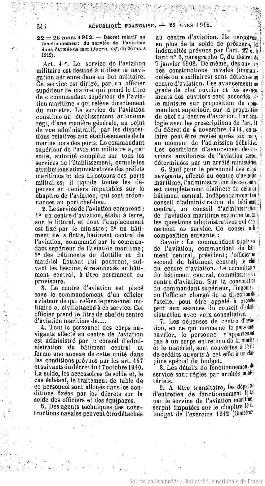 CRÉATION DE L'AÉRONAVALE - Page 2 1912_f10