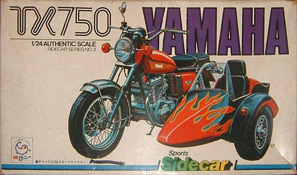 Yamaha TX 750 + sidecar 1/25 03tx7510