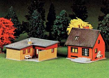 Maison agrandie HO Heljan10