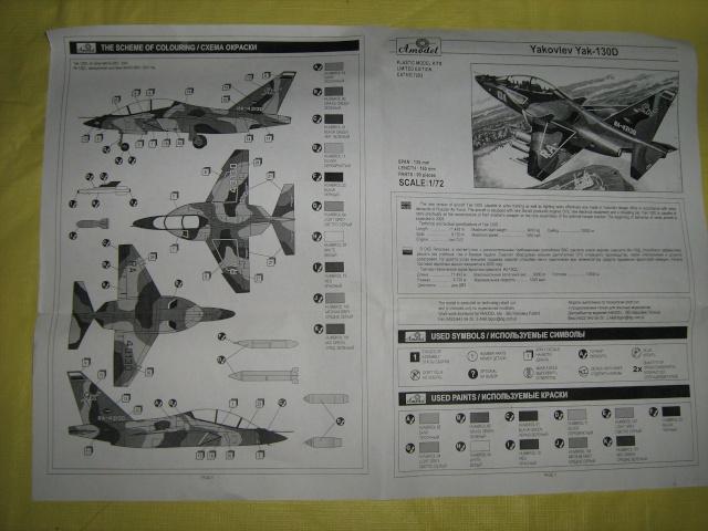 Yak-130 D de A-Model, 1/72 Yak-1316