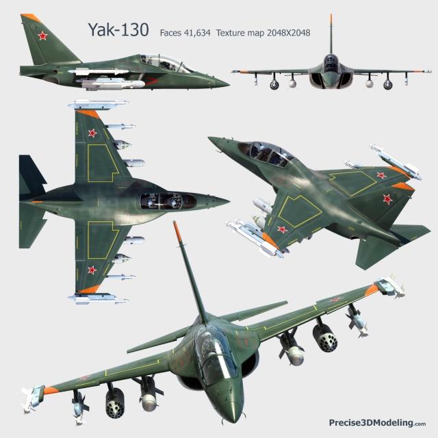 Yak-130 D de A-Model, 1/72 Yak13010