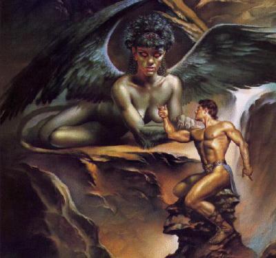 Le Sphinx, créature mythologique 69644710
