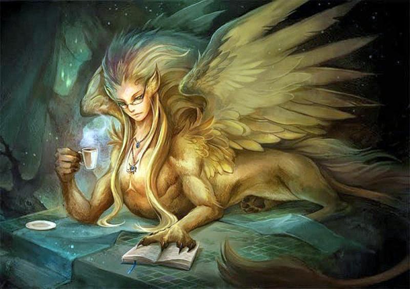 Le Sphinx, créature mythologique F5a53210