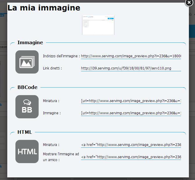 Servimg: come utilizzare l'host per le immagini di Forumattivo Serv311