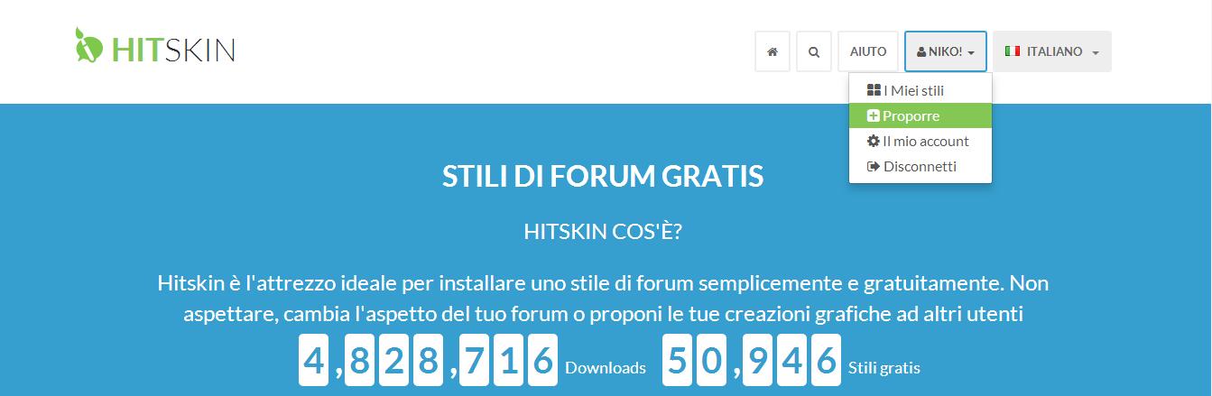 Hitskin: Come condividere uno stile U10