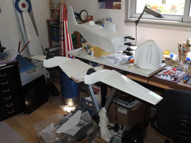 Racer Biplan Phantom 70 éch: 1/4 Dscn2512