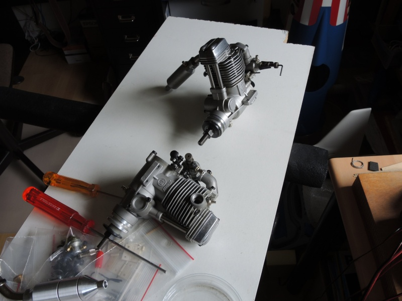 Racer Biplan Phantom 70 éch: 1/4 Dscn2516