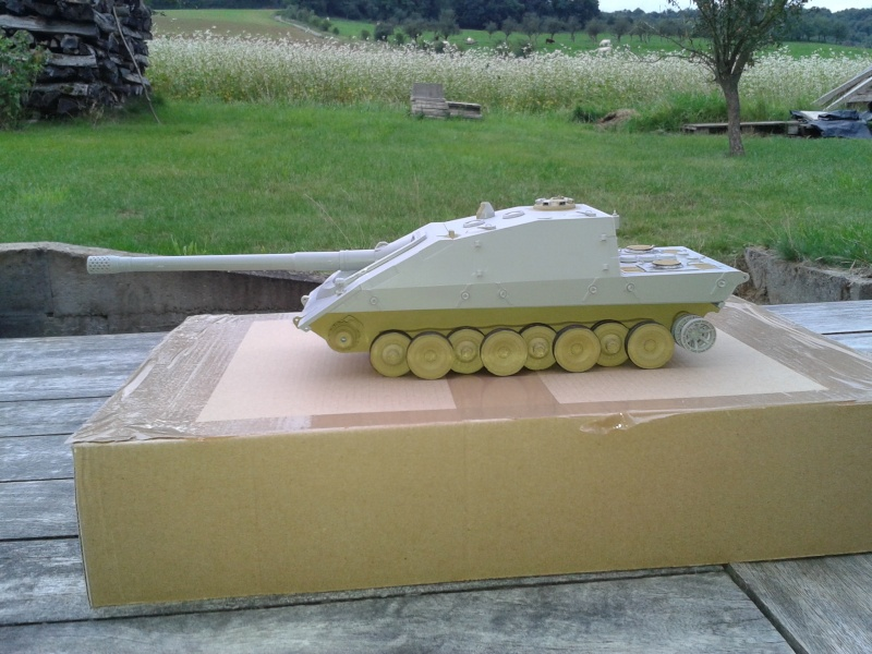 german jagdpanzer E100 de chez trumpeter  1/35 00113