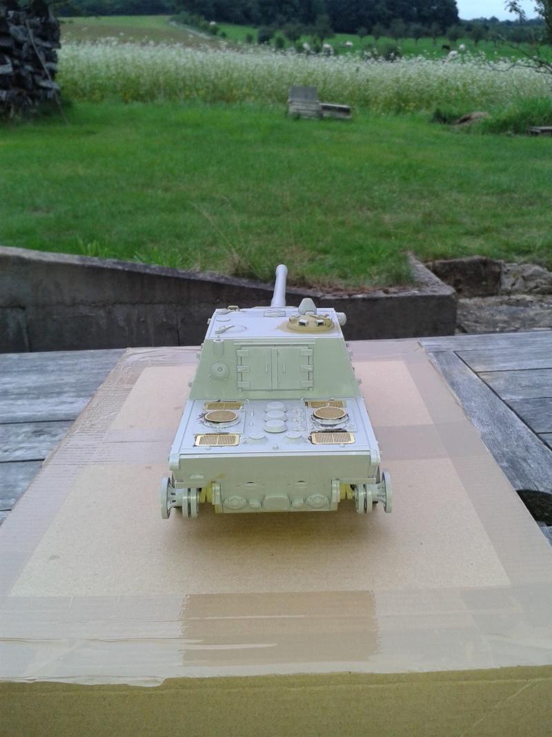 german jagdpanzer E100 de chez trumpeter  1/35 00312