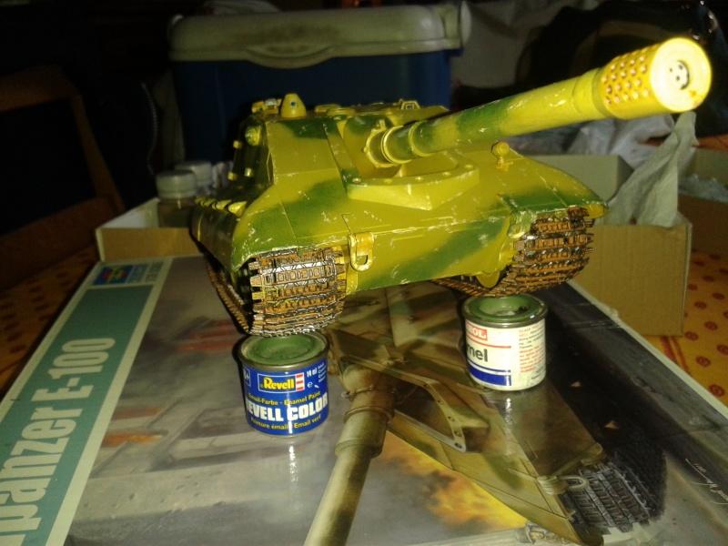 german jagdpanzer E100 de chez trumpeter  1/35 E10010