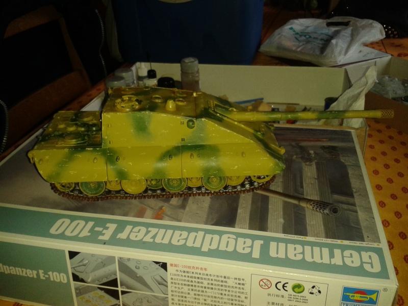 german jagdpanzer E100 de chez trumpeter  1/35 E_10012