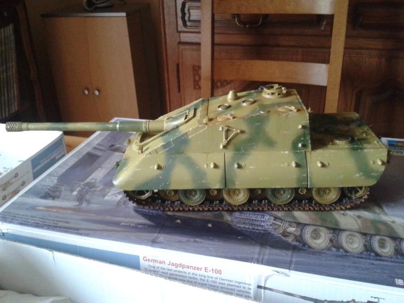 german jagdpanzer E100 de chez trumpeter  1/35 E_10013