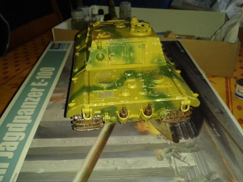 german jagdpanzer E100 de chez trumpeter  1/35 E_100_12