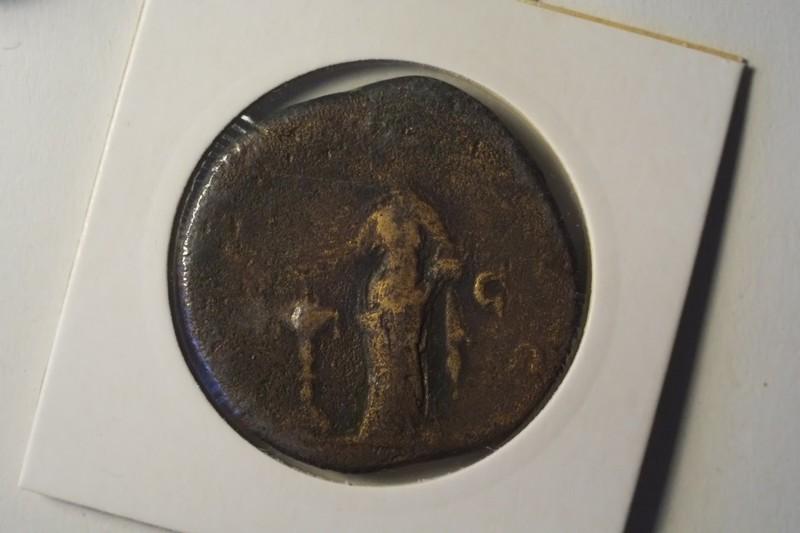 Sesterce Faustine buste à gauche Dscf5511