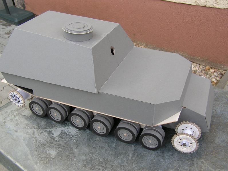 Panzerjäger Sd.Kfz.184 ,,Elefant,, m 1:20 26k1510