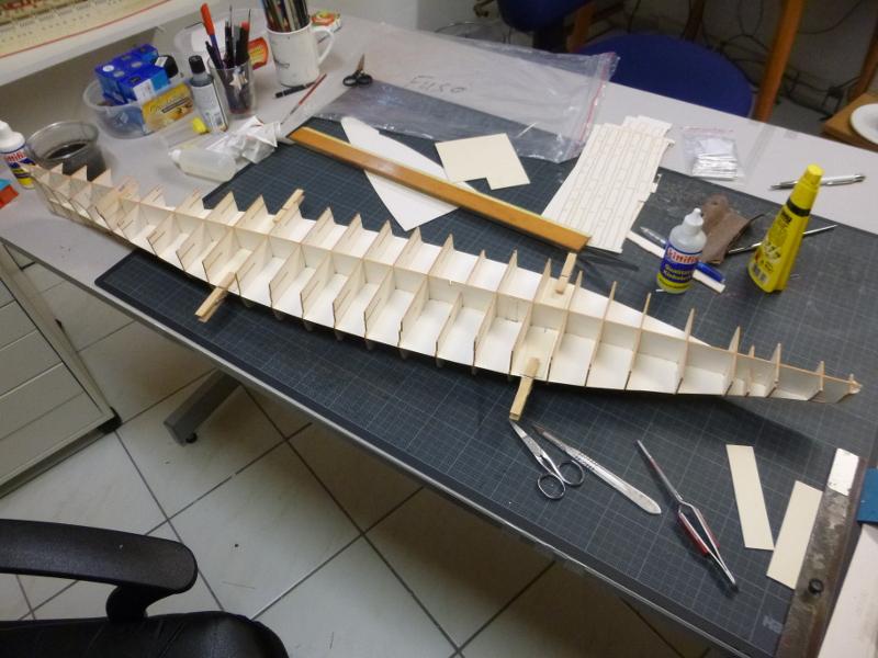 Jap. Schlachtschiff FUSO in 1:200 Halinski gebaut von Millpet   - Seite 2 P1030112