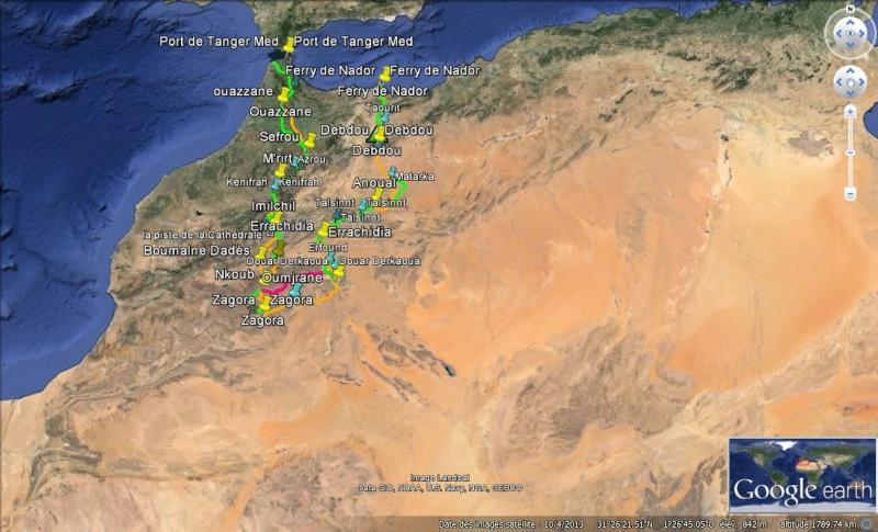 notre sejour au maroc  Parcou10