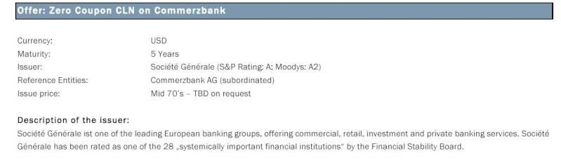 Société Générale (S&P Rating: A; Moodys: A2)  MTN  54451410