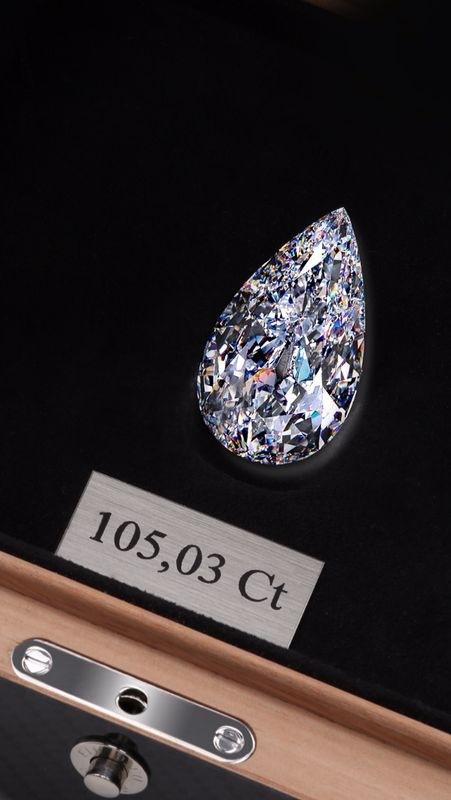 For sale  Diamond 105,03  CT    Attach10