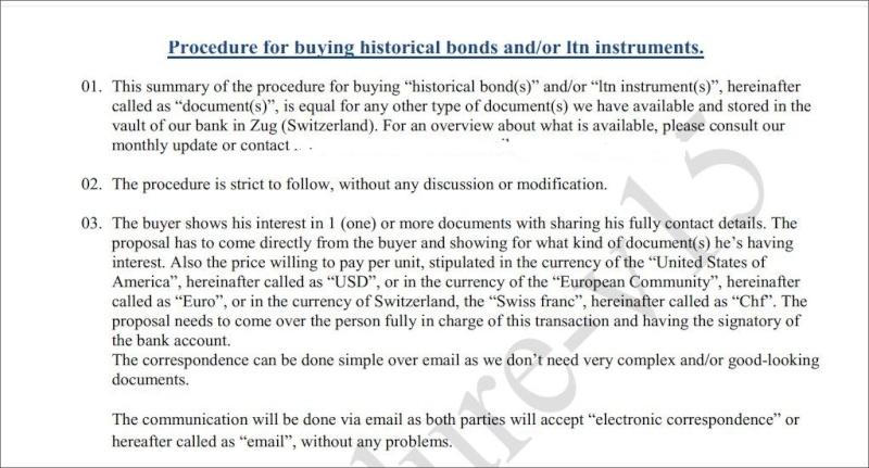 List of Bonds  Seller Swiss  , UBS  Bank  Pr0110