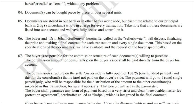 List of Bonds  Seller Swiss  , UBS  Bank  Pr0210