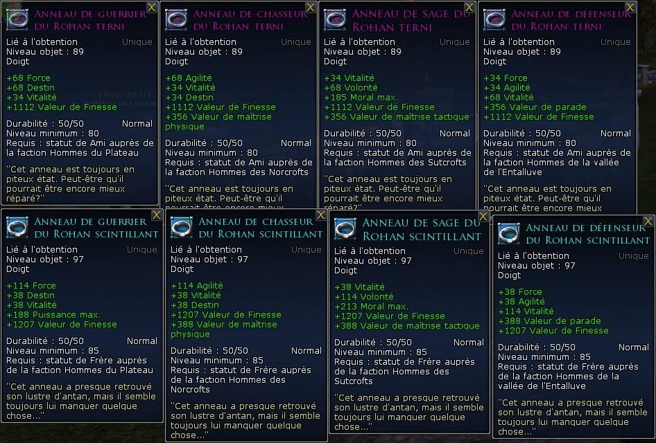 Les factions de réputation Screen24