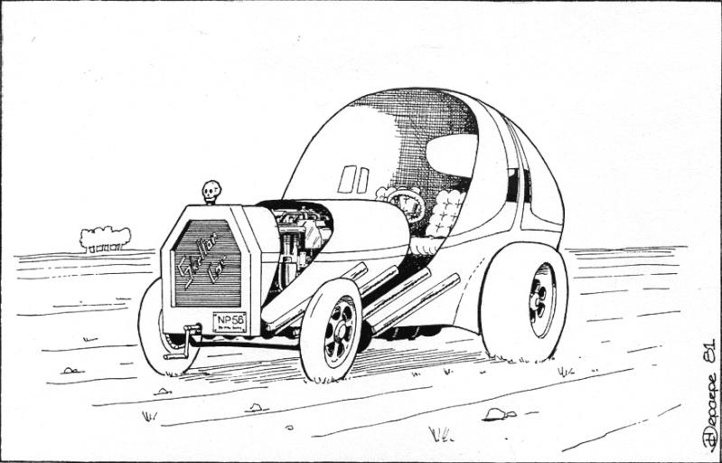 dessins de voitures