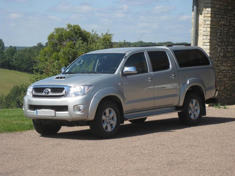 Vends ou échange Pick-up Toyota Hilux double-cabine2011 VENDU Img_2814