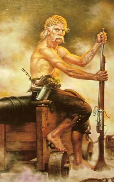 Le Barbillon - L'ascension et la Descente aux Enfers d'un Capitaine. Pirate10