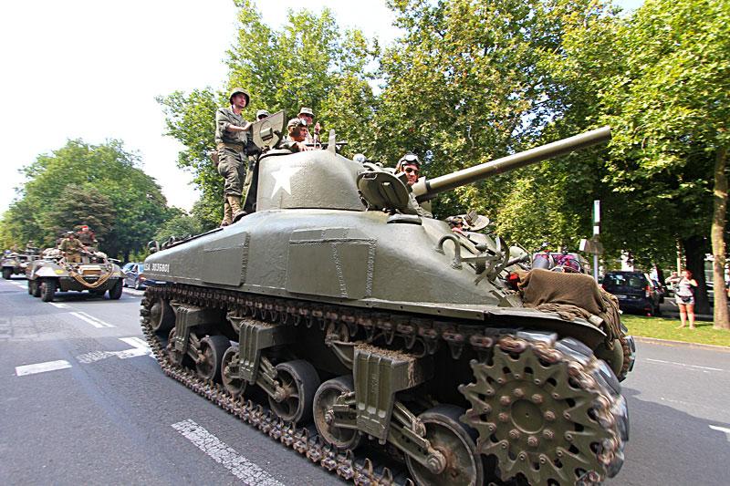 Photos 70éme anniversaire de la libération d'Orléans B11