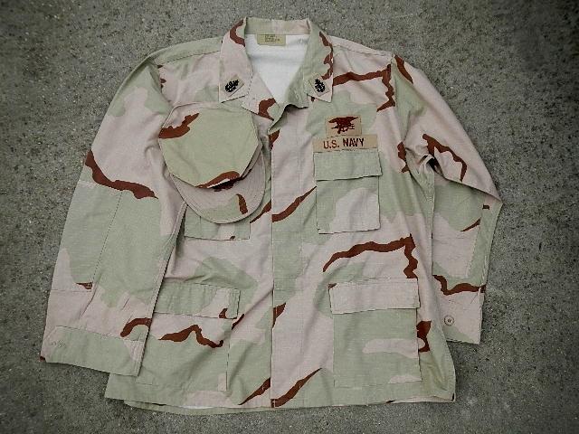 USN DCU &  BDU  blouses  Seal_018