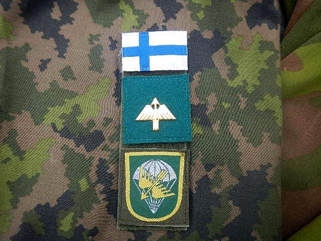 Finnish Para insignia Utti_t13