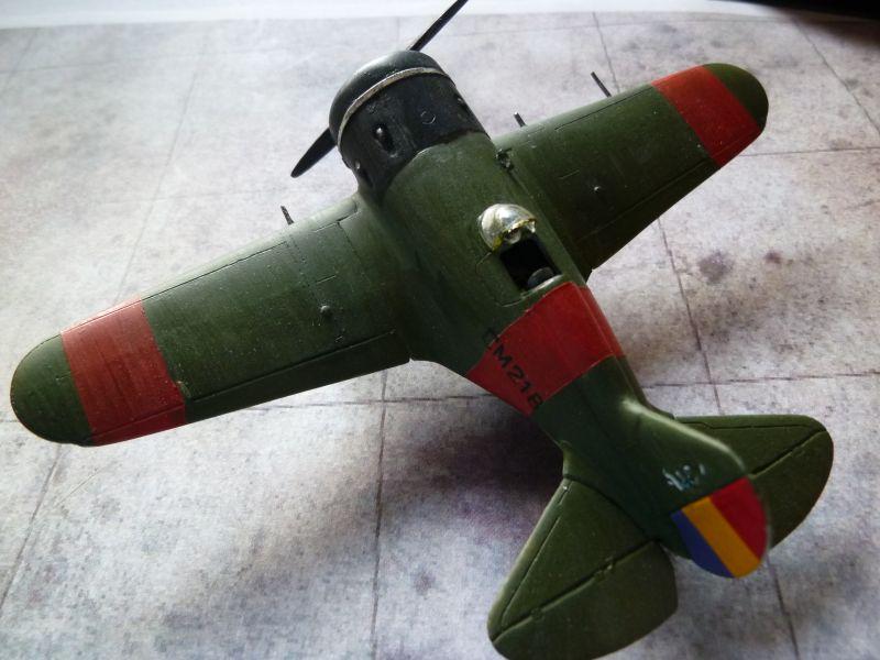 [AMODEL] Polikarpov I-16 type 5  P1040215