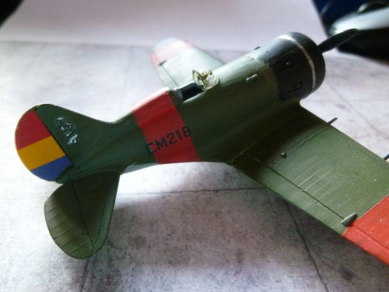 [AMODEL] Polikarpov I-16 type 5  P1040216