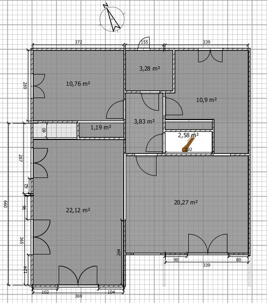 agencement des pièces Plan_s11