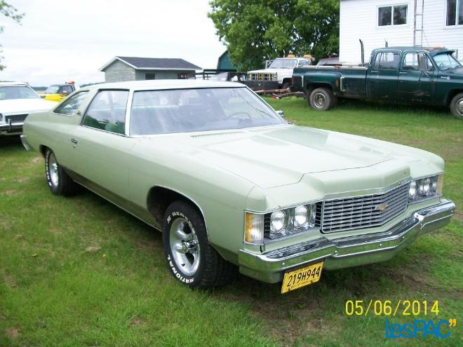 chevrolet impala 1974 2 porte 80614610