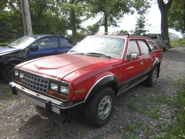 AMC EAGLE 1986 4X4 WAGON _20_812