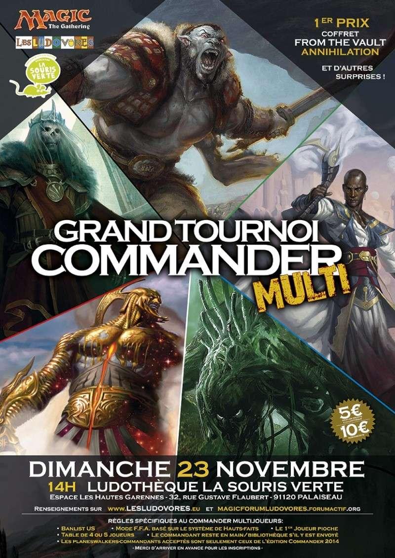Grand tournois EDH Multijoueurs - Dimanche 23 novembre Affich11