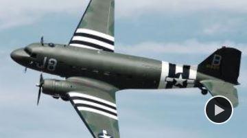 Vol en Dakota, star du Débarquement Dakota10