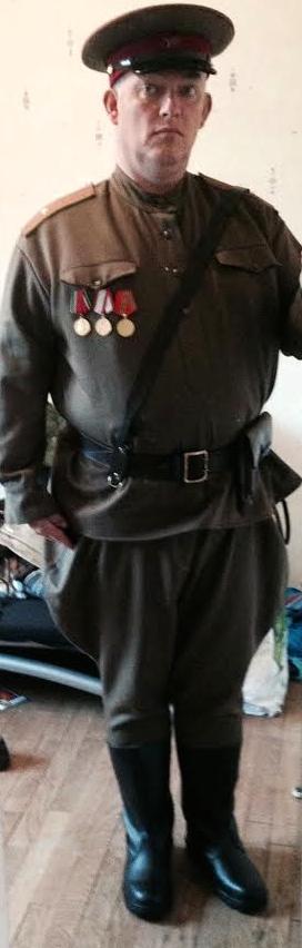 bientôt Tenue capitaine de l'infanterie de l'armée rouge des ouvriers et paysans Unname11