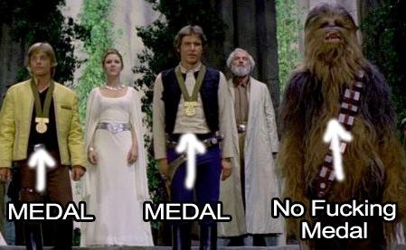 WEEKEND VIDEO: Why The Ending of Star Wars is Secretly Kind of Dumb Chewba10