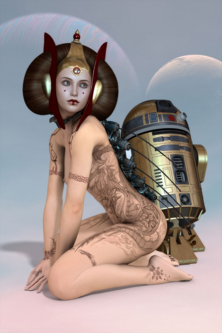 Star Wars - The Cool Weird Freaky Creepy Side of The Force - Page 34 Padme-10