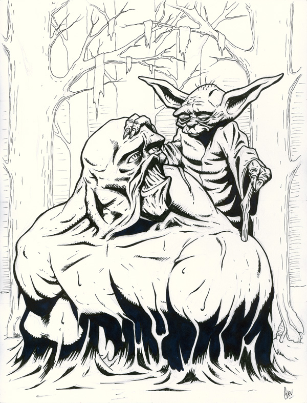 Star Wars - The Cool Weird Freaky Creepy Side of The Force - Page 34 Yodasw10