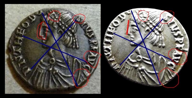 Comparaison de coins du Miliarense de Théodose II   - Page 2 Th10