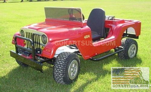 Monster Jeep Gokart Specification / Info Monste10