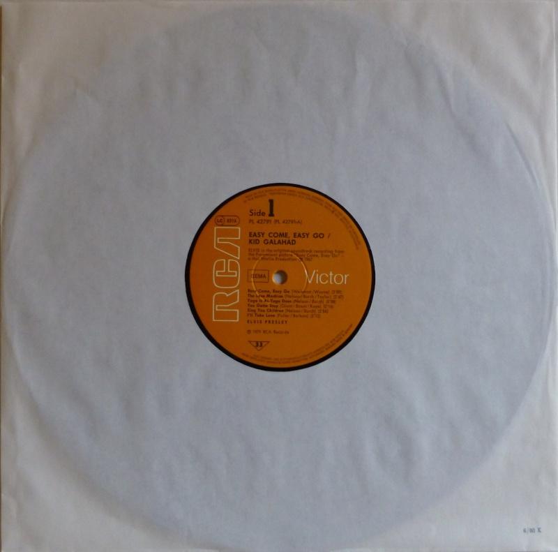 ORIGINAL SOUNDTRACKS: EASY COME EASY GO / KID GALAHAD 1b12