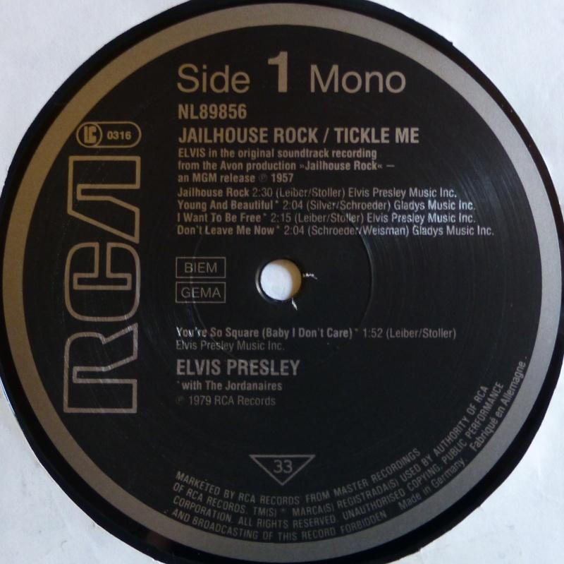 ORIGINAL SOUNDTRACKS: JAILHOUSE ROCK / TICKLE ME 2c10